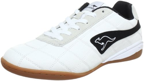KangaROOS Raoul Indoor Shoes Mens White Weià (wht/blk 5) Size: 7 (41 EU)