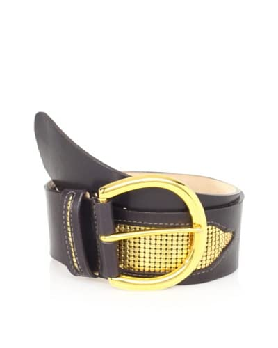 Streets Ahead Women's Leather Mesh-Accented Hip Belt