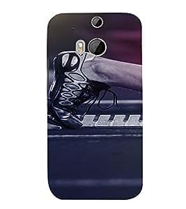 PrintVisa Gothic Art Design 3D Hard Polycarbonate Designer Back Case Cover for HTC One M8