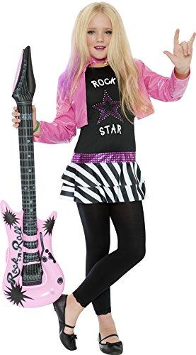 smiffys-disfraz-de-rockera-para-nina-talla-m-7-9-anos-36334m