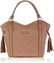 Tamaris  DANIELA Shopping Bag, shoppers femme - Beige - Beige (powder), 33x34x10 cm (B x H x T) EU