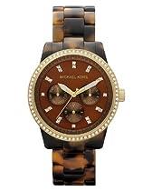 f9358d54af21 Buy Michael Kors Glitz Boyfriend Watch Tortoise Bracelet Gold Tone Case  MK5280