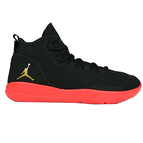 Nike Jordan reveal bg - Scarpe da basket, Uomo, colore Nero (black/mtlc gold coin-infrared 23), taglia 40
