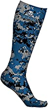 Daemen College Wildcats Socks Digicamo Design pair