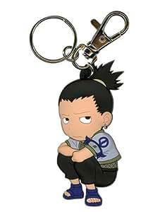 Naruto Shikamaru Sd Pvc Key Chain