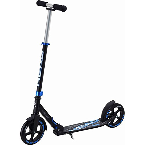 Head Urban Scooter Klapp Tretroller S205-80 205mm (Schwarz-Blau)