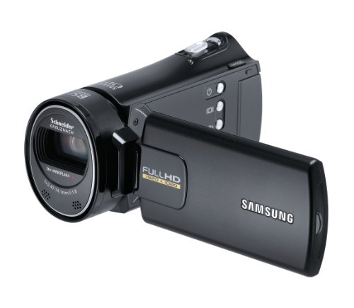 Samsung HMX-H300 Full HD Camcorder (30-fach opt. Zoom, 7,6 cm (3 Zoll) Display, Touchscreen, bildstabilisiert) schwarz