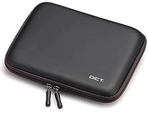 ELECOM 電子辞書ケース セミハードタイプ ブラック DJC-006BK