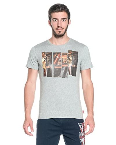 Lonsdale T-Shirt Manica Corta Durham [Grigio]
