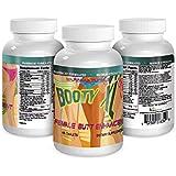 BOOTY XL Best Female Butt Enhancement & Enlargement Pills, Get a Firm, Fuller & Sexy Buttocks, Butt Enhancer. 2600Mg Formula (The Most Dense & Complete Formula Online).