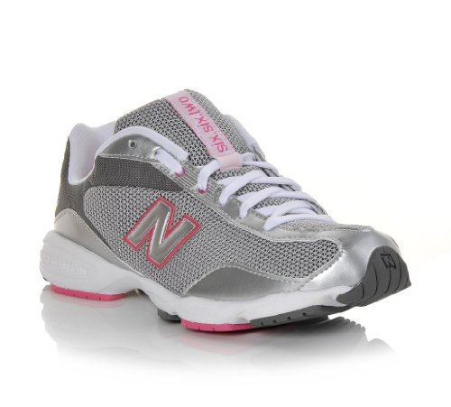 New Balance New Balance WL662GSP Running Shoes Pink Grey White Womens size 7.5