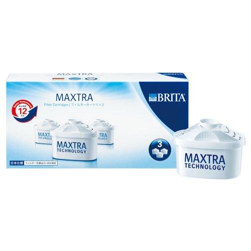 BRITA(ブリタ)【日本仕様】 マクストラ用交換カートリッジ 3個セット