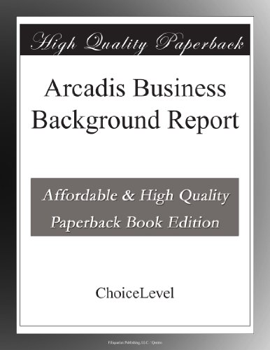 arcadis-business-background-report