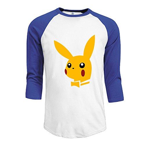 MYKKI Play Pika Men's Athletic Sleeve Shoulder XL RoyalBlue