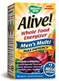 Natures Way - 15542 - Natures Way Alive! Mens Multi - 90 Tablets