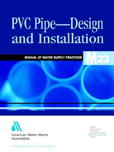 PVC pipe-- design and installation