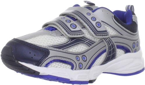 Pediped Flex Mercury Running Shoe (Toddler/Little Kid),Silver/Blue,28 Eu (11-11.5 M Us Little Kid) front-1000081