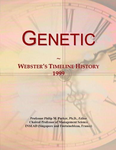 Genetic: Webster's Timeline History, 1999