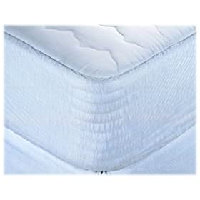Simmons Beautyrest Cotton Blend Waterproof with Laminate Mattress Pad