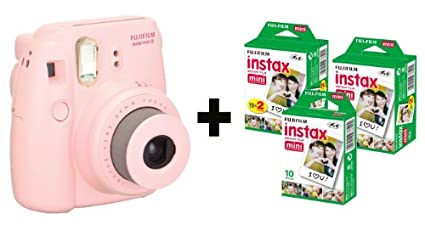 Fujifilm Instax Mini8 Instant Camera ( With 50 Film Exposures)
