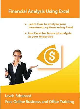Financial Analysis Using Excel 2010 and 2007 (computer based training course)