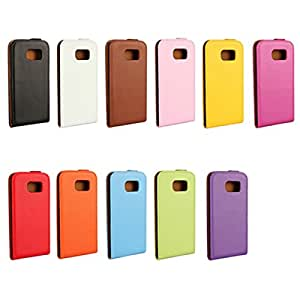 Ultra-thin Flip Pu Leather Case Cover For Samsung Galaxy S6 G9200**