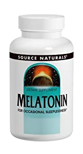Source Naturals Melatonin 2.5mg, Peppermint, 120 Tablets