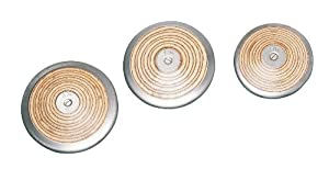 Buy Champion Sports 1 K Wood Practice Discus(Single) by Champion Sports