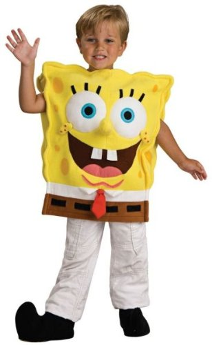 [Spongebob Squarepants Costume - Toddler] (Spongebob Squarepants Child Costumes)