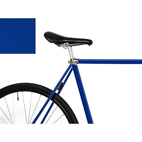 """MOOXI-BIKE Fahrrad-Folie """"Metallic Nachtblau"""" für den Rahmen deines Fahrrads (ausreichend für ein ganzes Rad)"""