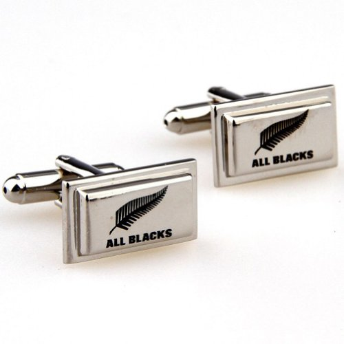 Beour White-gold-plated-silver Fashion Silver Copper Rectangle Cufflinks