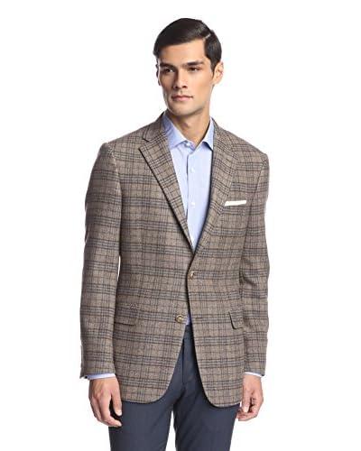 Hickey Freeman Men's Windowpane Sportcoat