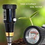 Portable High Precision Garden Plant Soil PH Meter Moisture Tester Sensor