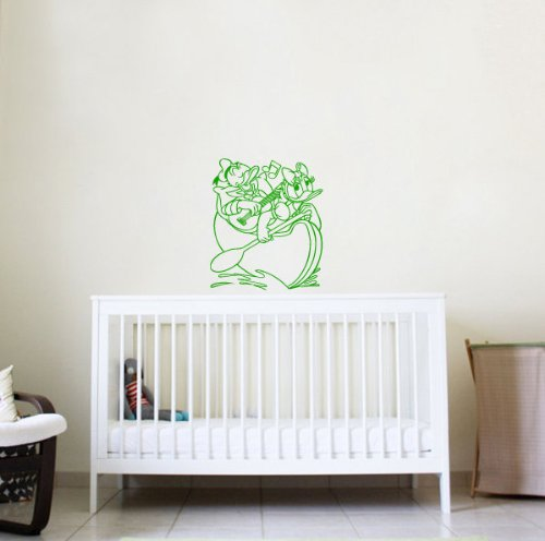 Housewares Wall Vinyl Decal Cartoon Duck Nursery Room Art Decor Removable Stylish Sticker Mural Unique Design For Any Room 174 back-1055705