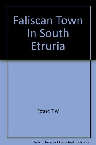 Faliscan Town In South Etruria PDF