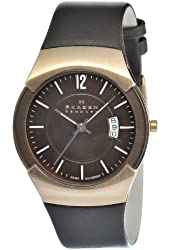 Skagen Men's 981XLRLD Stainless Steel Brown Dial Watch