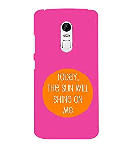 EPICCASE Sunshine Mobile Back Case Cover For Lenovo Vibe X3 (Designer Case)