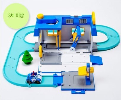 Robocar Poli Car Wash Center PlaySet - 1