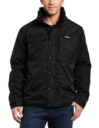 Caterpillar Men S Insulated Twill Jacket At Amazon Men S