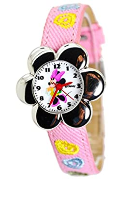 Disney Minnie Mouse Watch For Kids .Small Analog Dial. 8