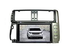 See AupTech 2010-2013 Toyota Prado DVD Player Android System GPS Navigation Radio Stereo Video 2-Din HD Screen With Bluetooth,Wifi,3G,Build in Analog TV and Steering Wheel Control Details
