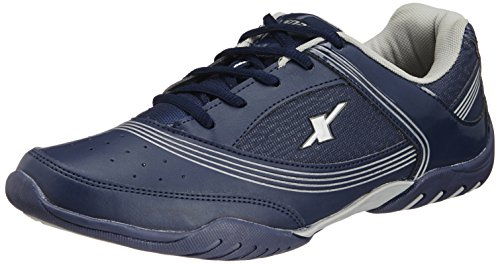 Sparx-Mens-Navy-Blue-and-White-Running-Shoes-8-UK-SM-186
