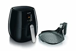 Philips HD9230/26 Digital AirFryer and Fry/Grill Pan Bundle
