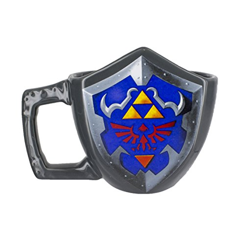 The Legend Of Zelda 3D scudo Mug