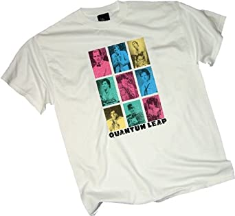 Faces Of Sam -- Quantum Leap Adult T-Shirt, X-Large