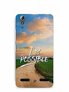 YuBingo I'm Possible Designer Mobile Case Back Cover for Lenovo A6000 Plus
