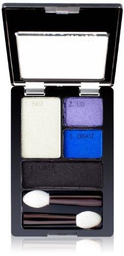 Maybelline New York Expert Wear Eyeshadow Quads, Electric Blue, 0.17 Ounce