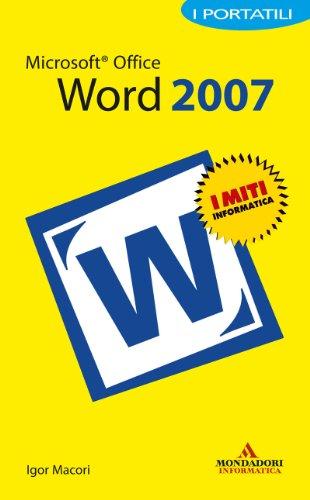 Igor Macori - Microsoft Office Word 2007 I Portatili