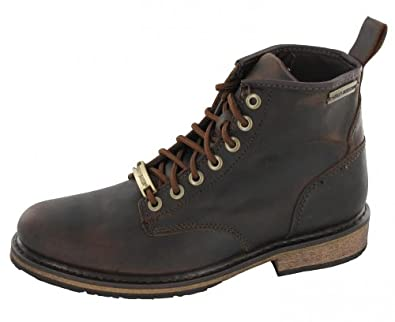 Harley Davidson Joshua Brown Mens Ankle Boots by Harley-Davidson