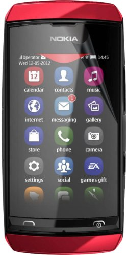 5-Pack EZGuardZ Nokia ASHA 305 306 Screen Protectors (Ultra CLEAR)